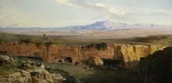 Campagna di Roma | Edward Lear | Oil Painting