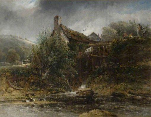 A Watermill near Totnes