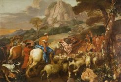 The Angel Appearing to the Shepherds | Giovanni Castiglione | Oil Painting