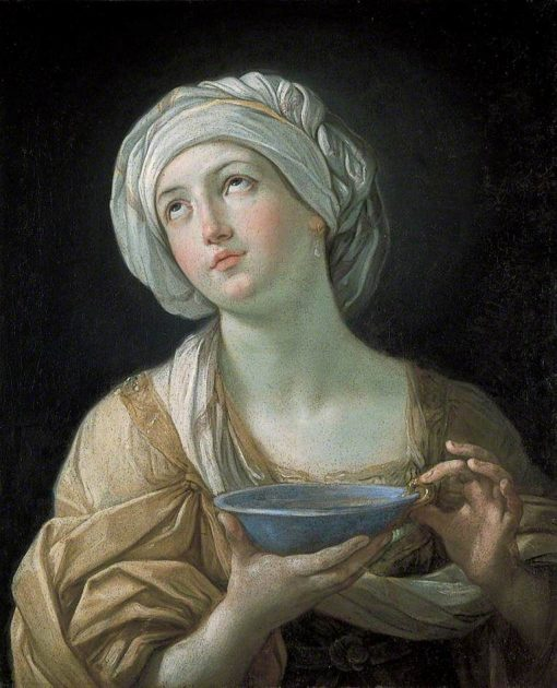 Portrait of a Woman (Lady with a Lapis Lazuli Bowl) | Guido Reni | Oil Painting