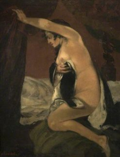 """Study for Venus in """"Venus and Psyche"""" 