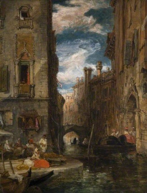 A Recollection of Venice | James Holland | Oil Painting