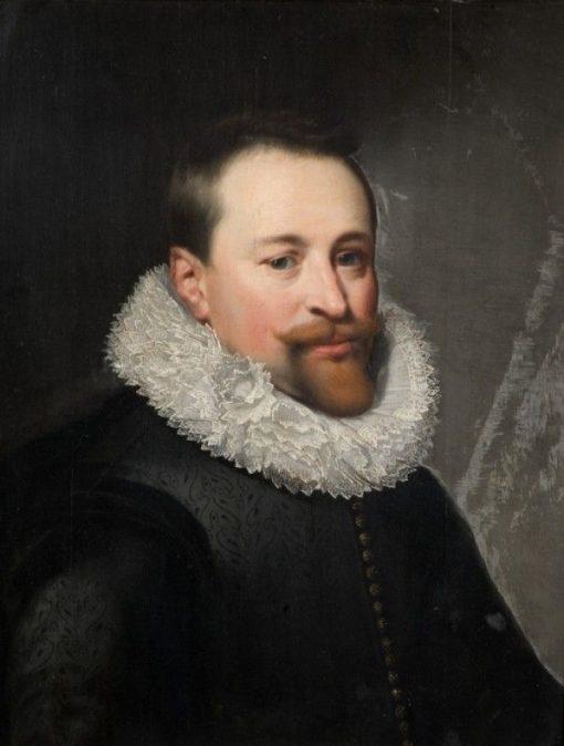 Portrait of a Man   Jan van Ravesteyn   Oil Painting
