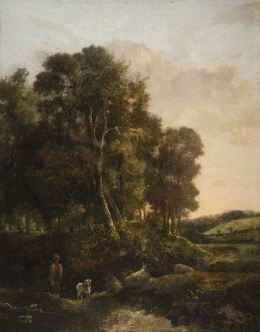 The Way through the Wood   John Crome   Oil Painting