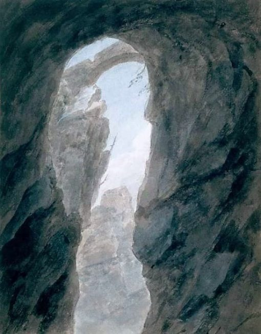 Ravine in the Campagna | John Robert Cozens | Oil Painting