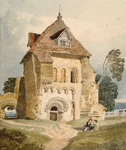 A Norman Building near Durham | John Sell Cotman | Oil Painting