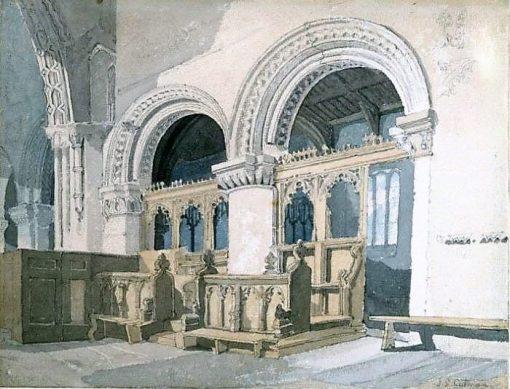 Interior of Walsoken Church