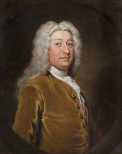 John Whitehall of 'Furnivall's Inn'   Joseph Highmore   Oil Painting