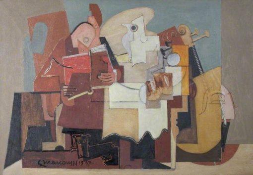 Le Lecteur   Louis Marcoussis   Oil Painting