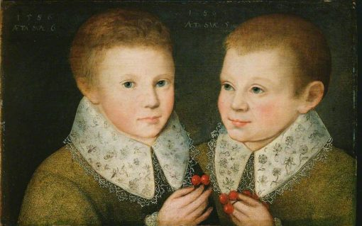 Portrait of Two Brothers | Marcus Gheeraerts the Younger | Oil Painting