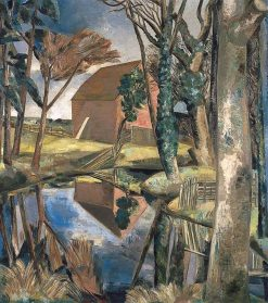 Oxenbridge Pond | Paul Nash | Oil Painting