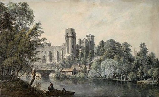 Warwick Castle from the River | Paul Sandby