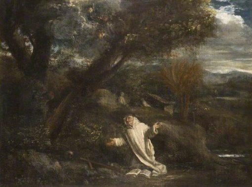 Landscape with a Saint in Ecstasy | Pier Francesco Mola | Oil Painting