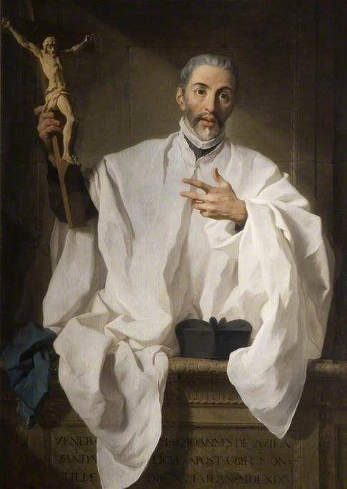 San Juan de avila | Pierre Subleyras | Oil Painting