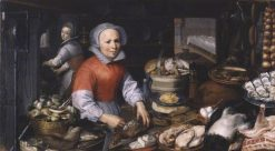 Preparations for a Feast | Pieter Aertsen | Oil Painting