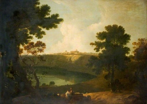 Lake Albano and Castel Gandolfo | Richard Wilson