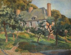 A Surrey House | Roger Eliot Fry | Oil Painting