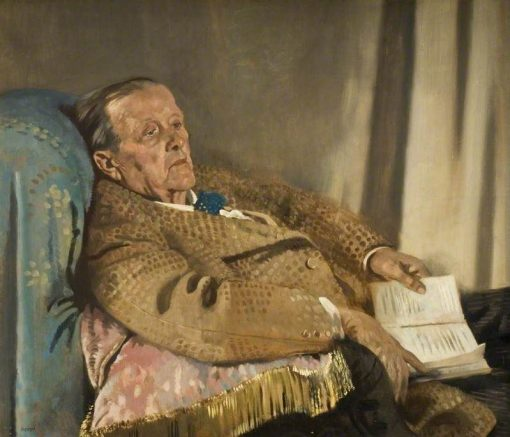 Sir Edwin Ray Lankester | Sir William Orpen | Oil Painting