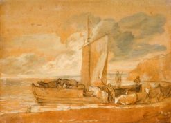 A Cattle Ferry | Thomas Gainsborough | Oil Painting