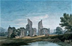 Glastonbury Abbey | Thomas Hearne | Oil Painting