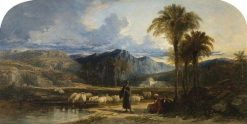 Arab Shepherds | William James Muller | Oil Painting