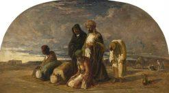 Prayers in the Desert   William James Muller   Oil Painting