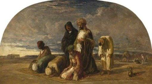 Prayers in the Desert | William James Muller | Oil Painting