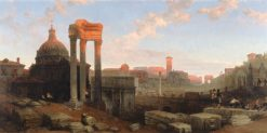 The Remains of the Roman Forum | David Roberts | Oil Painting