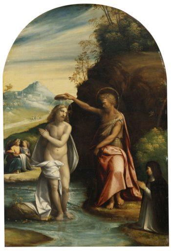 Baptism of Christ | Il Garofalo | Oil Painting