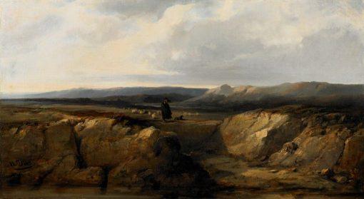The Shepherd and His Flock | Narcisse Dìaz de la Peña | Oil Painting