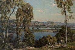 Villeneuve les Avignon | Herbert Hughes Stanton | Oil Painting