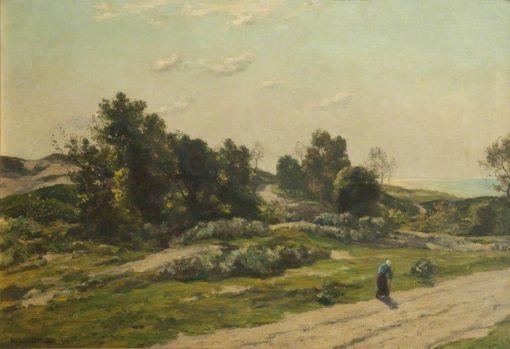 Sunlight across the Sea | Herbert Hughes Stanton | Oil Painting