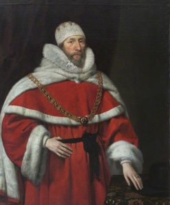Chief Justice Sir Henry Hobart | Daniel Mijtens | Oil Painting