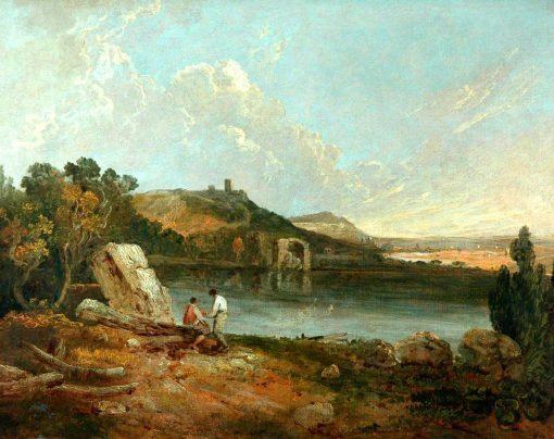 Italian Lake Scene | Richard Wilson