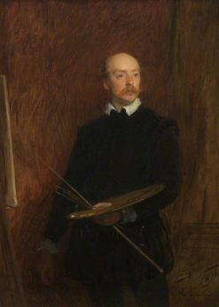 John Crompton (1854-1927) | John Seymour Lucas | Oil Painting