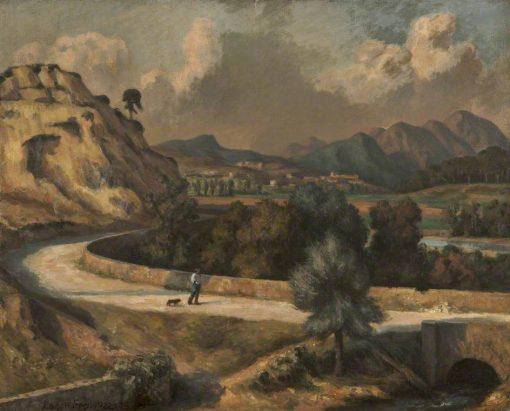Italian Landscape   Roger Eliot Fry   Oil Painting