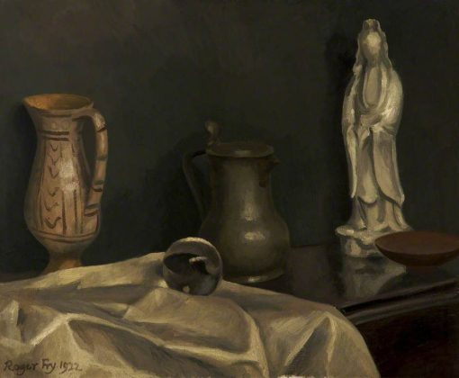 Still Life with Chinese Porcelain | Roger Eliot Fry | Oil Painting