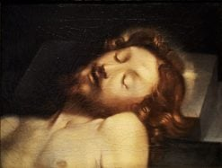 Head of Christ Resting on a Stone | Federico Barocci | Oil Painting