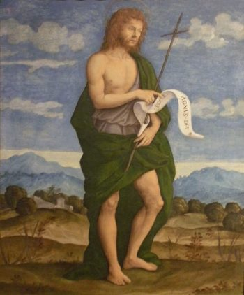 Saint John the Baptist | Girolamo da Santa Croce | Oil Painting