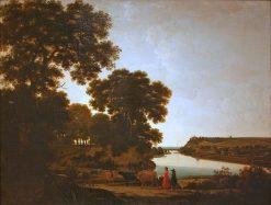 View on the River Meuse | Joris van der Haagen | Oil Painting