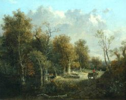 The Edge of the Forest | John Crome | Oil Painting