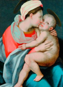 Madonna and Child | Rosso Fiorentino | Oil Painting