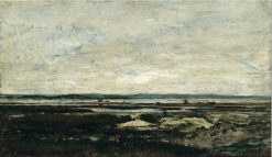 Les Sables-d'Olonne | Charles Francois Daubigny | Oil Painting