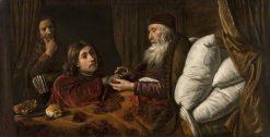Jacob's Deception   Jan Victors   Oil Painting