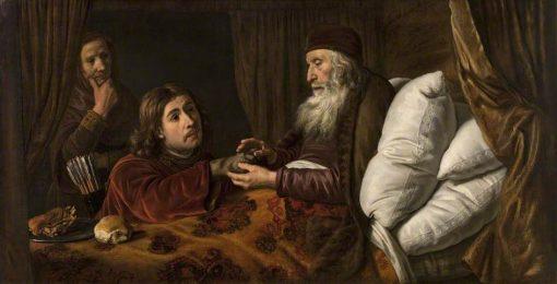 Jacob's Deception | Jan Victors | Oil Painting