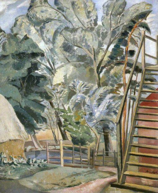 Granary   Paul Nash   Oil Painting