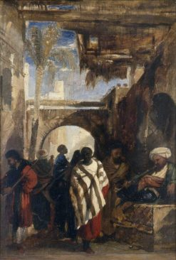 A Street in Cairo | William James Muller | Oil Painting