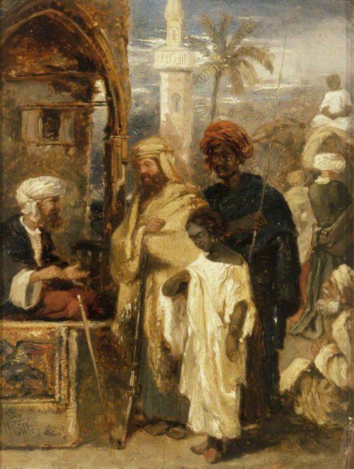 Slave Market | William James Muller | Oil Painting