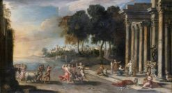 A Festival in Honour of Bacchus | French School th Century   Unknown | Oil Painting
