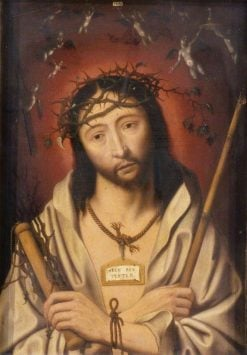 Christ Crowned with Thorns | Jan Mostaert | Oil Painting